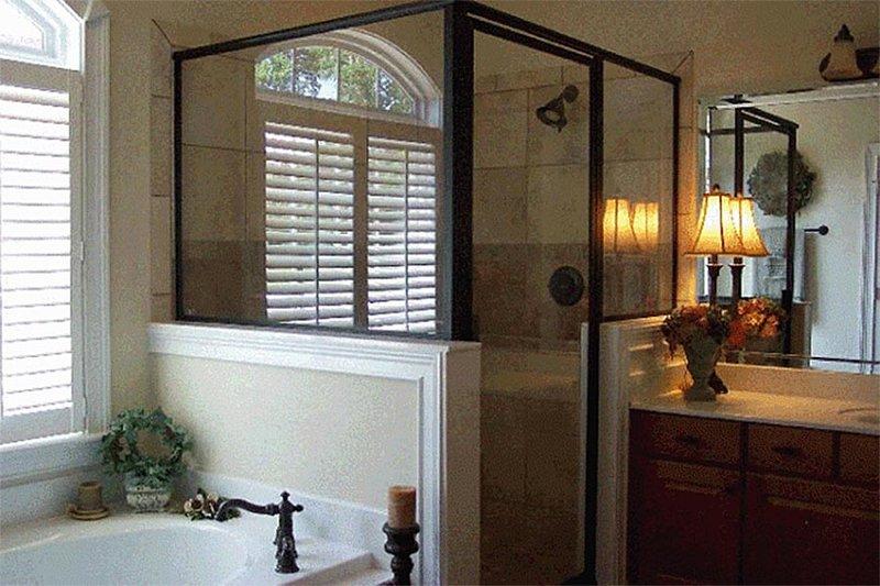 Country Interior - Master Bathroom Plan #137-216 - Houseplans.com