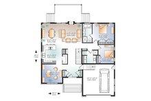 Ranch Floor Plan - Main Floor Plan Plan #23-2623