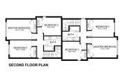 Modern Style House Plan - 3 Beds 1.5 Baths 1106 Sq/Ft Plan #126-171 Floor Plan - Upper Floor Plan