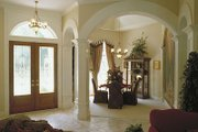 European Style House Plan - 5 Beds 4 Baths 3424 Sq/Ft Plan #417-380 Photo