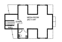 Ranch Floor Plan - Other Floor Plan Plan #117-850