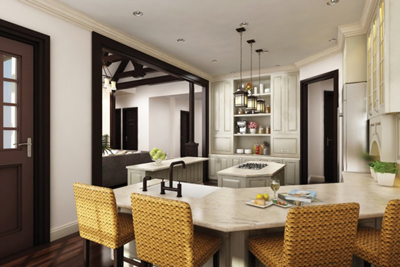 Craftsman Interior - Kitchen Plan #119-422 - Houseplans.com