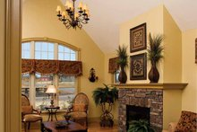 Dream House Plan - Tudor Interior - Family Room Plan #929-613