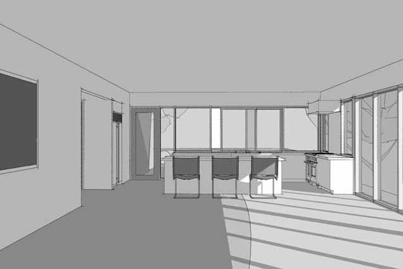 Contemporary Interior - Kitchen Plan #64-312 - Houseplans.com