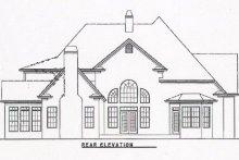 Traditional Exterior - Rear Elevation Plan #54-130