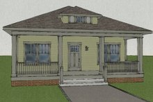 Dream House Plan - Craftsman Exterior - Other Elevation Plan #461-4