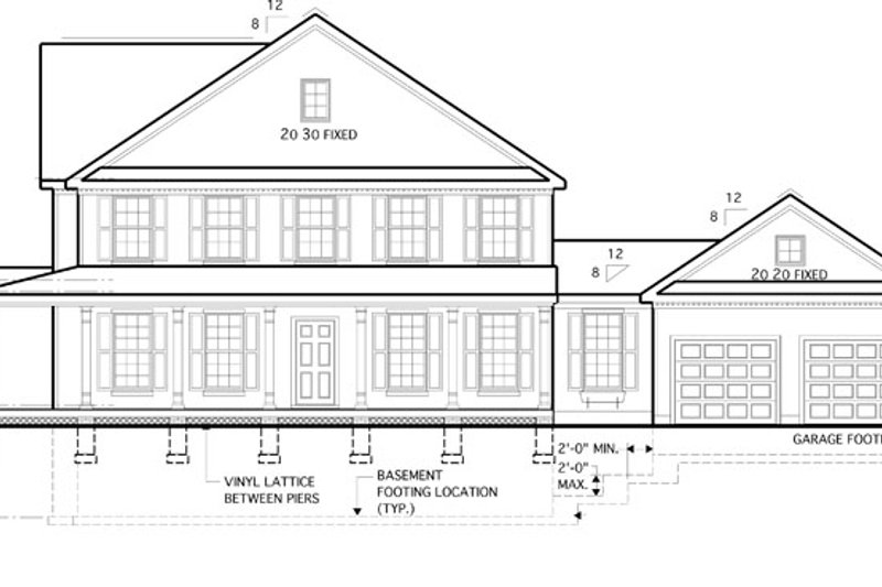 Traditional Exterior - Other Elevation Plan #1053-52 - Houseplans.com