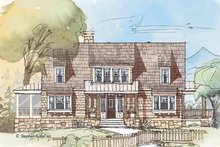 House Plan Design - Country Exterior - Front Elevation Plan #429-426