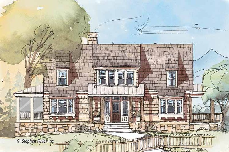 Country Exterior - Front Elevation Plan #429-426 - Houseplans.com