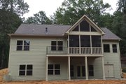 Ranch Style House Plan - 3 Beds 2 Baths 1683 Sq/Ft Plan #437-79 Exterior - Rear Elevation