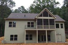 House Plan Design - Ranch Exterior - Rear Elevation Plan #437-79