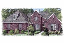 Country Exterior - Front Elevation Plan #15-387