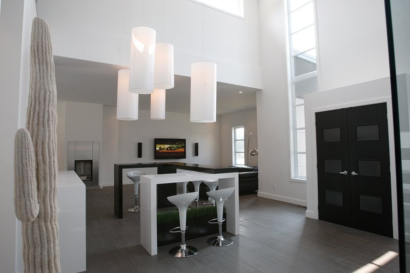 Foyer - 3200 square foot Modern Home