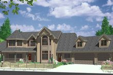 Architectural House Design - Country Exterior - Front Elevation Plan #303-472