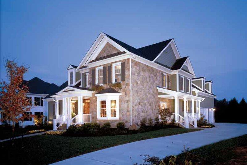 Colonial Exterior - Front Elevation Plan #429-259 - Houseplans.com