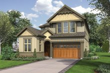 Home Plan - Traditional Exterior - Front Elevation Plan #48-902