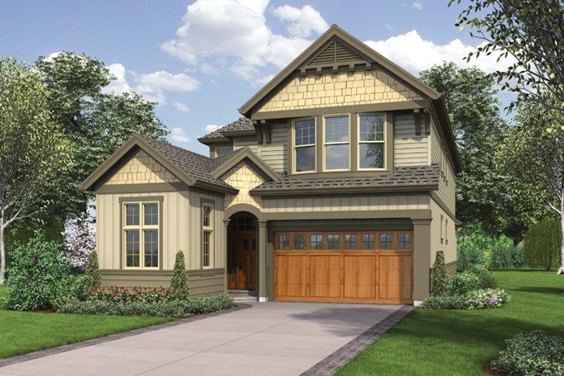 Traditional Exterior - Front Elevation Plan #48-902 - Houseplans.com