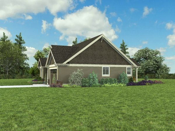 Craftsman Floor Plan - Other Floor Plan #48-998