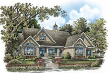 Ranch Exterior - Front Elevation Plan #929-858