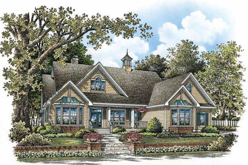 House Plan Design - Ranch Exterior - Front Elevation Plan #929-858