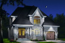 Home Plan - Traditional Exterior - Front Elevation Plan #23-721