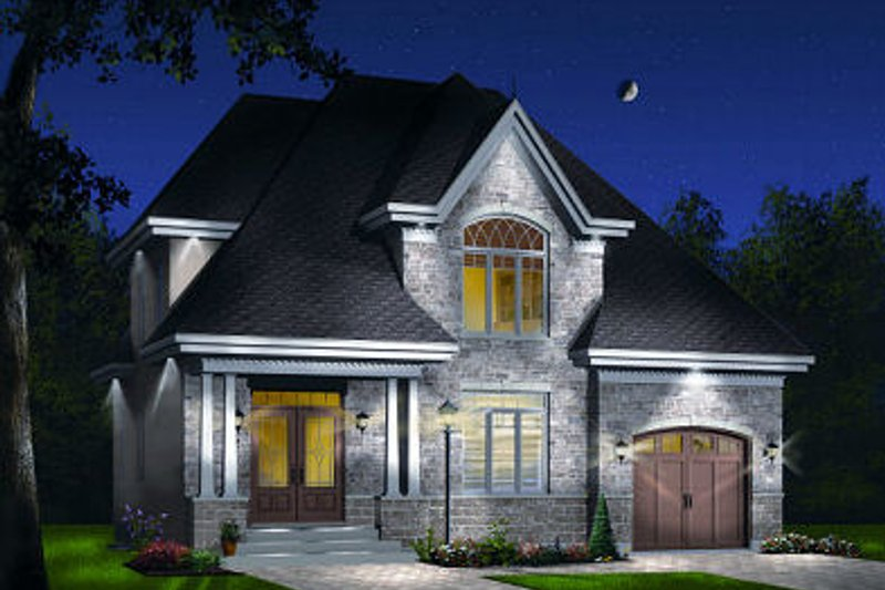 House Design - Traditional Exterior - Front Elevation Plan #23-721