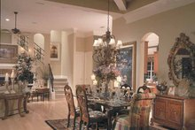 House Design - Mediterranean Interior - Dining Room Plan #417-747