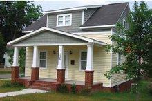 Architectural House Design - Craftsman Exterior - Front Elevation Plan #936-1