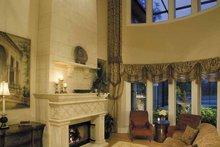 European Interior - Family Room Plan #930-361