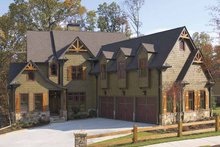 Architectural House Design - European Exterior - Front Elevation Plan #54-286