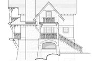 Cabin Style House Plan - 2 Beds 1.5 Baths 1187 Sq/Ft Plan #928-246 Exterior - Other Elevation