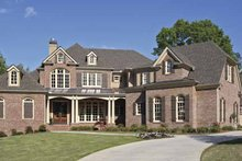 Home Plan - European Exterior - Front Elevation Plan #54-281