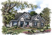 Traditional Style House Plan - 4 Beds 3 Baths 2217 Sq/Ft Plan #929-822 Exterior - Front Elevation
