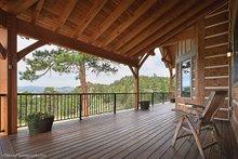 Home Plan - Craftsman Exterior - Rear Elevation Plan #942-30