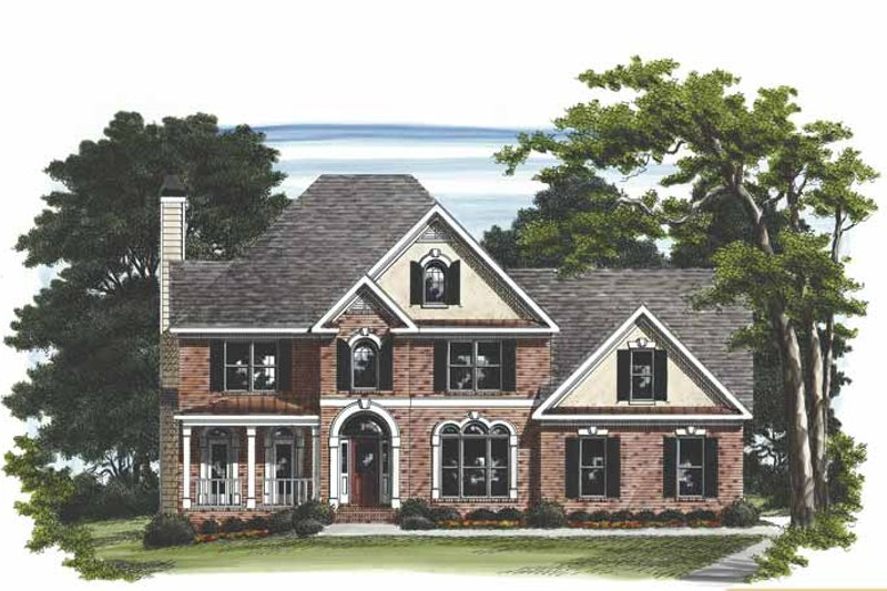Traditional Exterior - Front Elevation Plan #927-466