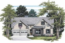 Home Plan - Ranch Exterior - Front Elevation Plan #927-450