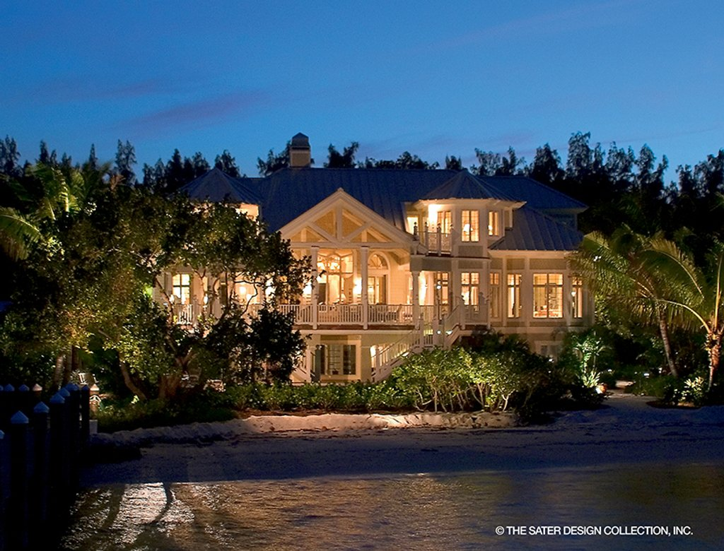 The Sater Design Collection country style house plan - 5 beds 5 baths 4038 sq/ft plan #930-472