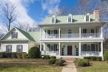 Dream House Plan - Southern Exterior - Front Elevation Plan #137-107