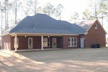 House Plan Design - European Exterior - Rear Elevation Plan #63-167