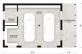 Contemporary Style House Plan - 0 Beds 0 Baths 724 Sq/Ft Plan #924-8 Floor Plan - Main Floor Plan