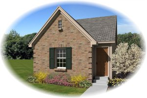 Traditional Exterior - Front Elevation Plan #81-13857