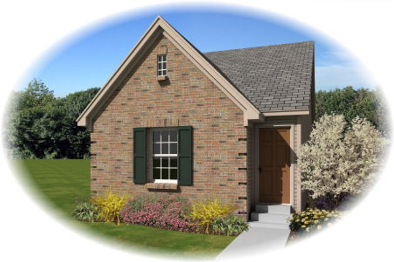 Traditional Style House Plan - 3 Beds 2 Baths 1122 Sq/Ft Plan #81-13857