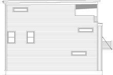 Home Plan Design - Contemporary Exterior - Other Elevation Plan #932-317