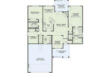 Craftsman Floor Plan - Main Floor Plan Plan #17-2463