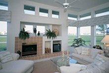 Dream House Plan - Mediterranean Interior - Family Room Plan #930-38