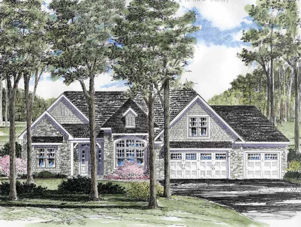Craftsman style house plan 3 beds 2 baths 1875 sq ft for Www dreamhomesource com