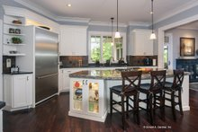 Architectural House Design - Craftsman Interior - Kitchen Plan #929-340