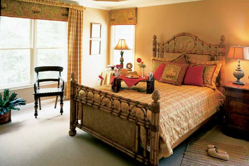 Colonial Interior - Master Bedroom Plan #927-872 - Houseplans.com