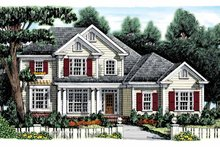 Home Plan - Colonial Exterior - Front Elevation Plan #927-886