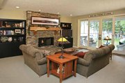 Craftsman Style House Plan - 3 Beds 3.5 Baths 3136 Sq/Ft Plan #928-54 Interior - Family Room